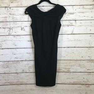 Max Studio Black LBD Simple Dress
